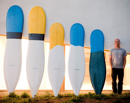 A Makeover of The Classic Surfboard by Thomas Meyerhoffer
