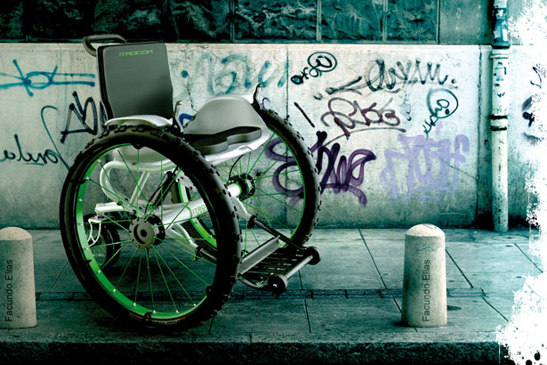 Modern Wheelchair Design by Facundo Elias