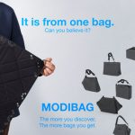Modibag: Flexibly Usable Bag by Sungmook Lim