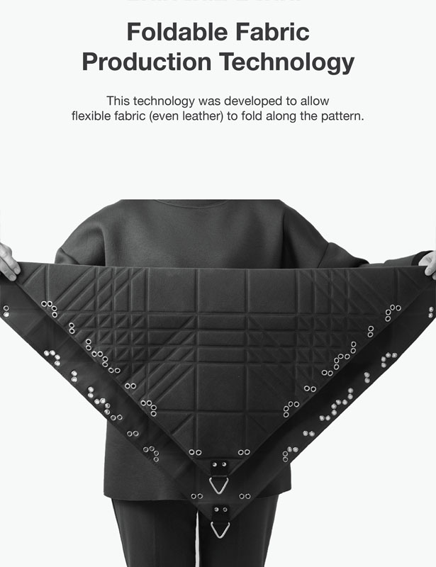 Moodibag : Flexibly Usable Bag by Sungmook Lim