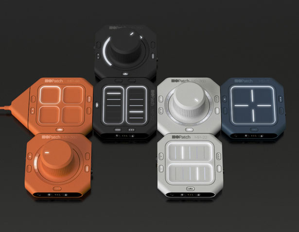 Modpods - Modular MIDI Controller by Andrew Walla
