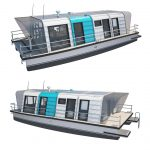 Modul GO Houseboat by Max Zhivov