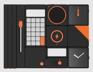 Modular Office Supplies Concept Helps You to Have an Organized Desk
