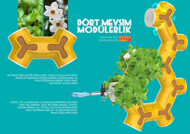Modular Pot by Sedat Özer