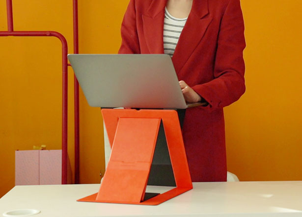 MOFT Z- Invisible Sit-stand Laptop Desk with 4 Positions
