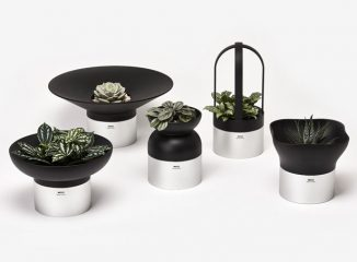 Inspired by Japanese Design Language, Moju Modular Planters Feature Minimalist and Clean Lines