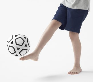 Molten My Football Kit is Non-Inflatable Soccer Ball with Replaceable Components