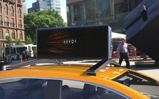Bluemap Design x Moment Solutions M17 Digital Car-Top Advertising Display