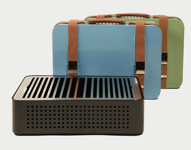 Mon Oncle Briefcase Barbecue