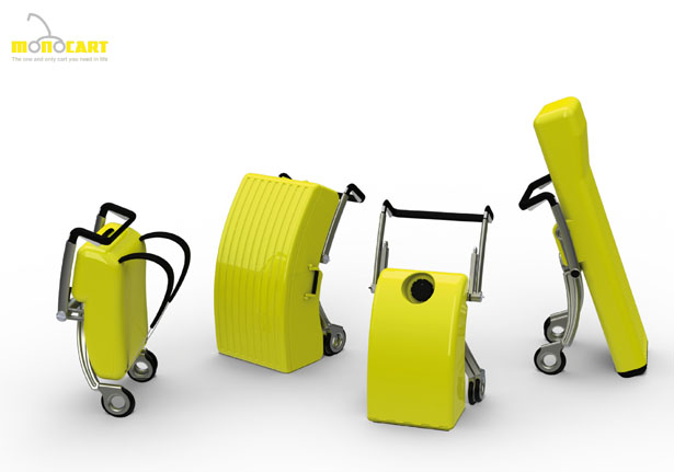 Monocart Multi-Purpose Cart by Ka Wai Ng