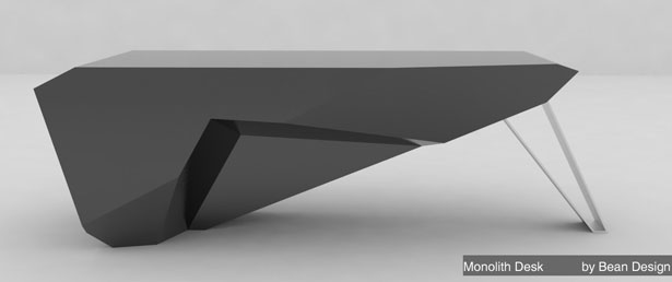 Monolith Desk Simplicity And Beauty In One Tuvie