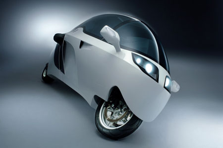 monotracer cabin motorcycle