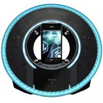 Monster Tron Light Disc Audio Dock Boasts Futuristic Style and High Definition Sound