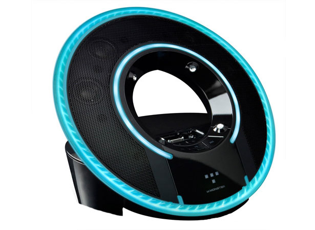 Monster Tron Light Disc Audio Dock