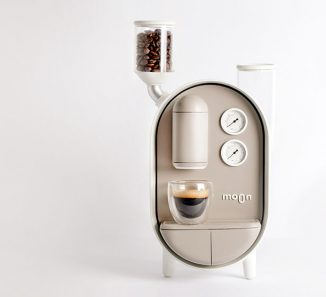 Moon Coffee Maker Concept Wants to Capture The Ritual of Coffee Culture of Italy