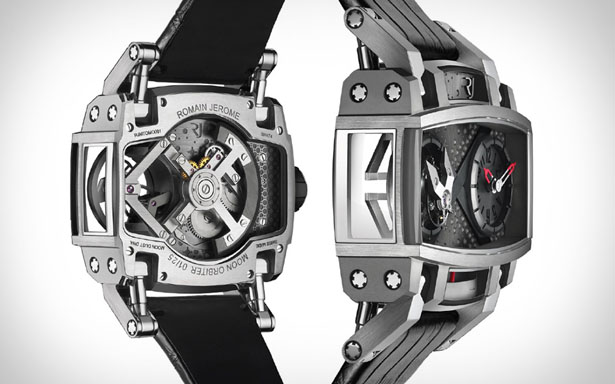 Moon Orbiter Tourbillon Watch by Romain Jerome
