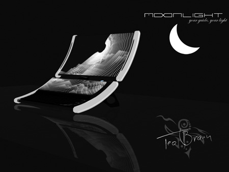 Moonlight Laptop Concept with Dual Curved Screens