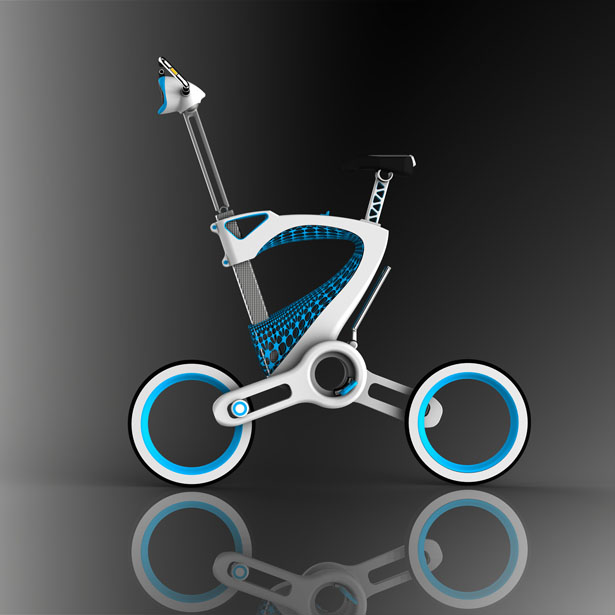 MORI Folding Bike by Janus Yuan