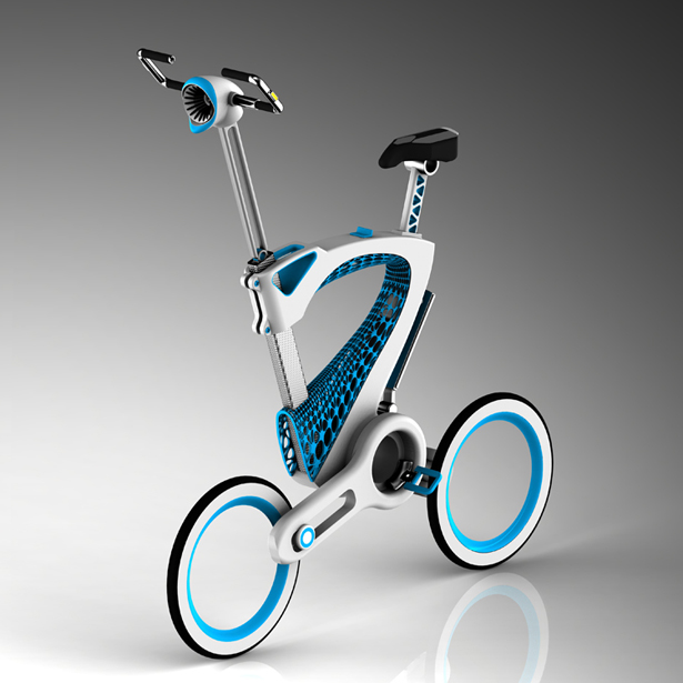 MORI Folding Bicycle by Janus Yuan