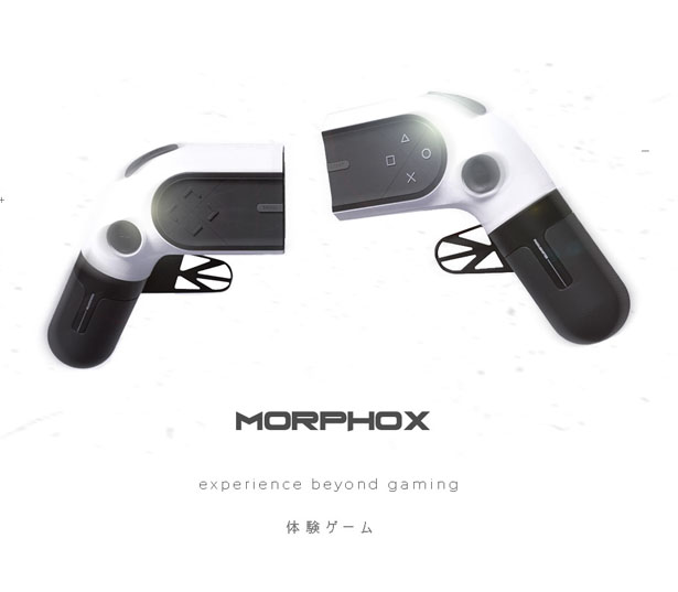 MORPHOX - Modular Game Controller by Chinmay Gohil