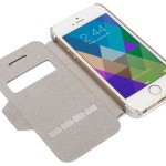 Moshi SenseCover Brushed Titanium iPhone Case with Embedded SensArray Pads