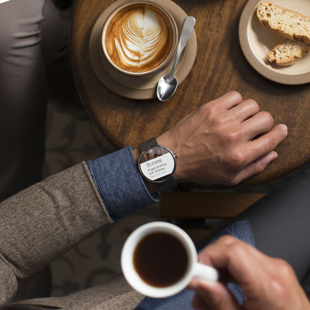 Moto 360 Watch Is Powered by Google Android Wear