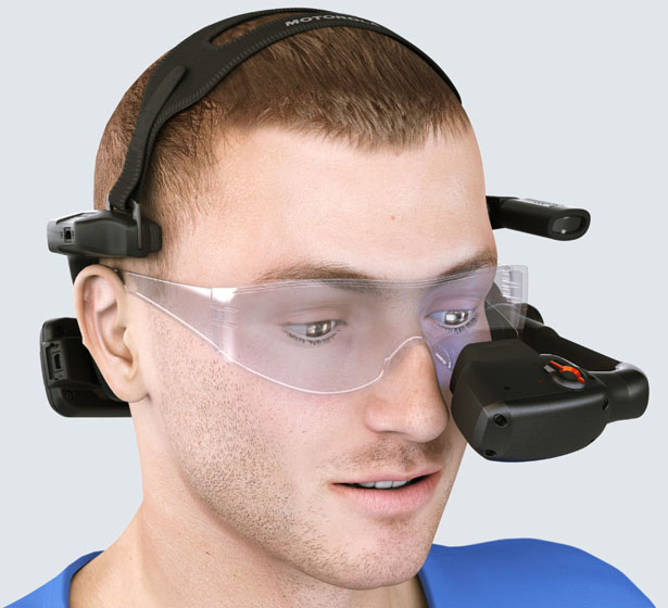Motorola HC1 Headset Computer by Rob Mansfield