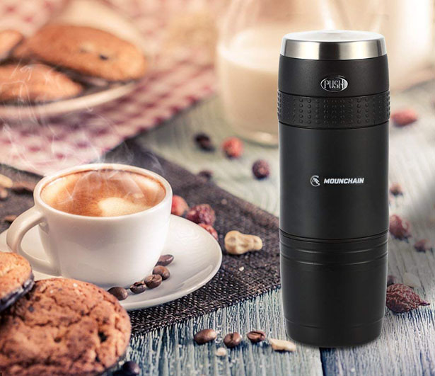 Mounchain Mini Travel Coffee Maker