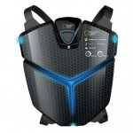 Futuristic Mountain Climber Shield Provides Climber with Endless Oxygen, Heat, and Electricity