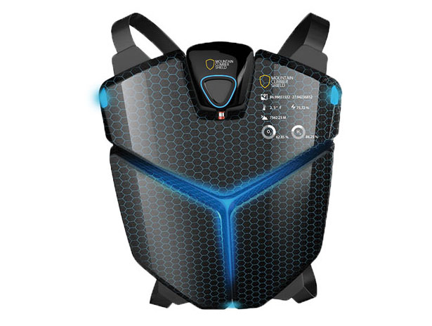 Mountain Climber Shield - Futuristic Protection for Mountain Climber