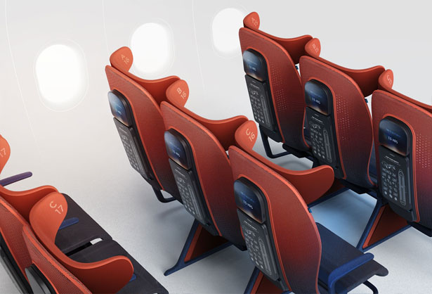 Move Airline Seat Concept for Airbus by Layer Design