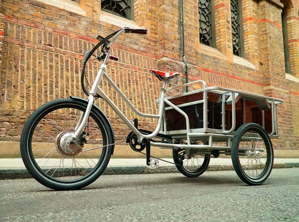 movE Electric Cargo Bike by Sanitov Bicycles