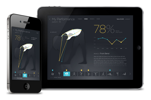 Move Technology Garment by Electricfoxy Tracks Your Expressive Movements to Improve Your Performance