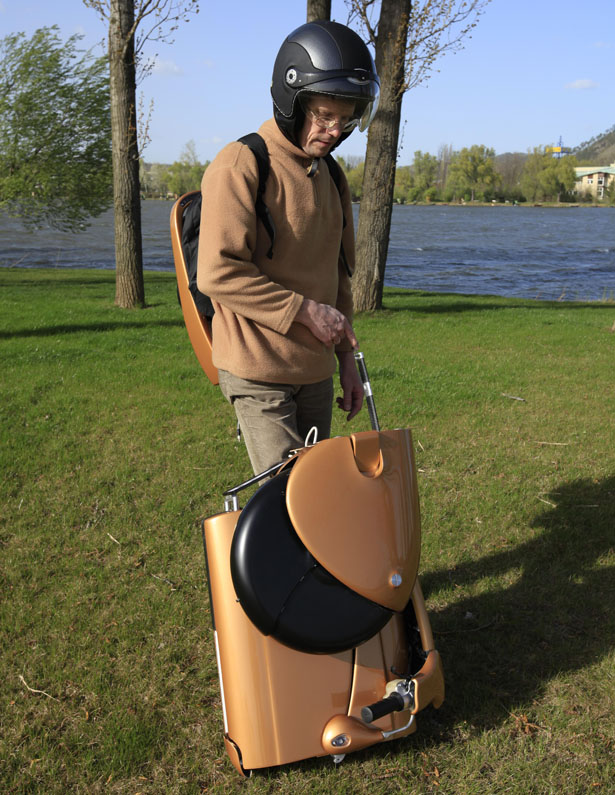 Moveo Foldable Electric Scooter