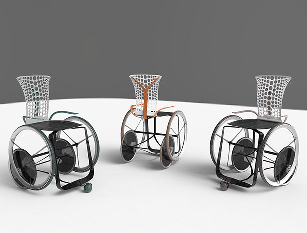 MOVEO Modern Wheelchair for People With Spinal Cord Injuries