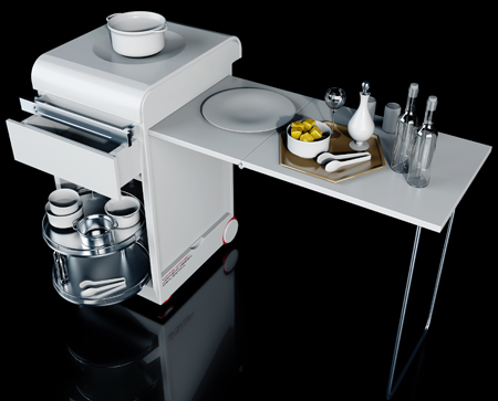 Moving kitchen portable kitchen for indoor and outdoor - Mini cocina ikea ...
