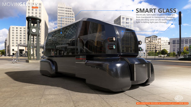 MovinGenius Future Mobility Concept by Mohammad Ghezel