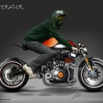 Mo2or Cafe Racer Design Proposal by Rahul Rathore