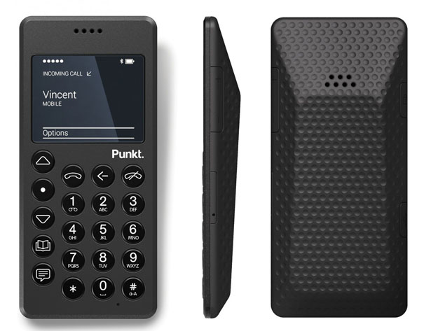 MP01 Mobile Phone by Punkt