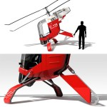 Muecke Single Seater LightWeight Helicopter