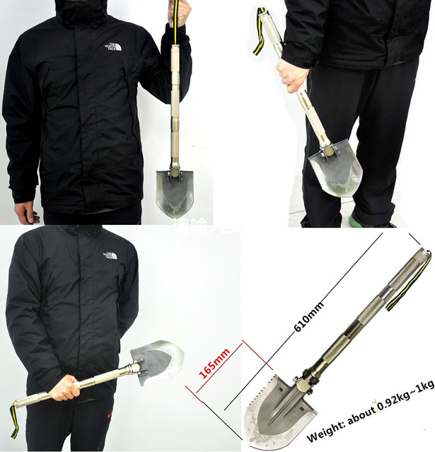Multi-function Folding Shovel Should Be In Your Survival Kit List