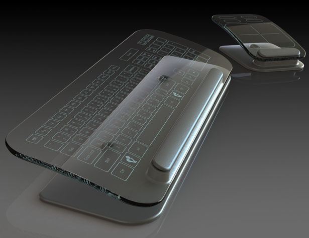 Multi-Touch Keyboard and Mouse by Jason Giddings