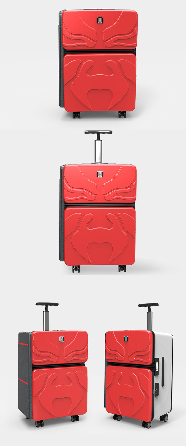 Transformers: Multifuctional Suitcase with Furniture System