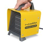Multifun Cozy Box Portable Ceramic Heater Heats Fast and Has Adjustable Thermostat
