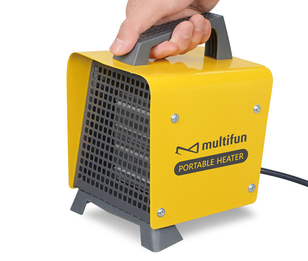 Multifun Cozy Box Portable Ceramic Heater with Adjustable Thermostat