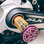 All In Multitool Fits Securely within The Crank Hollow of A Mountain Bike