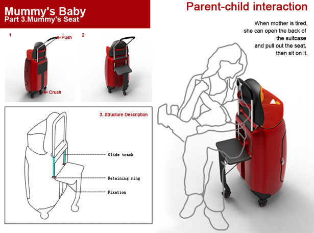 Mummy's Baby Open Baby Folding Seat