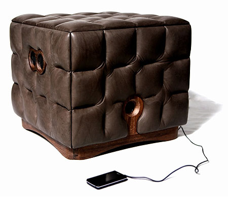 Music Chocolate Sofa is Integrated With High-Quality Sound System