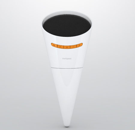 Cone Torch Speaker Design from Mintpass