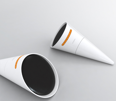 music torch speaker